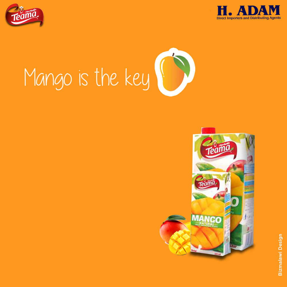 Hints of mango, a cup of delicious