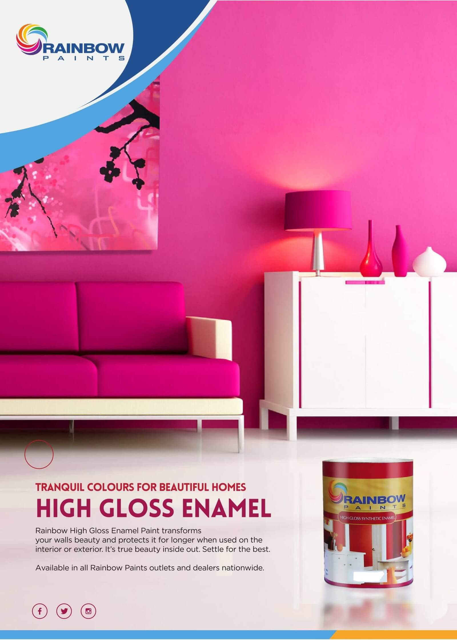 Tranquil Colours For Your Home...