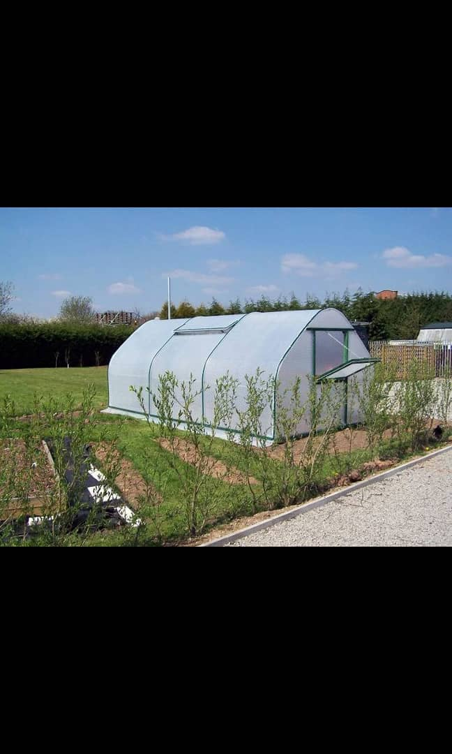 Imported UV treated plastic greenhouse s...