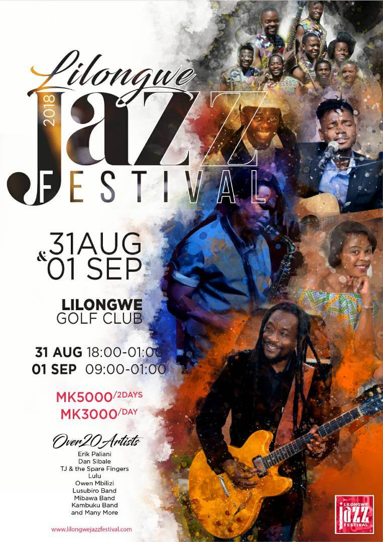 Get ready for the Lilongwe Jazz Festival...