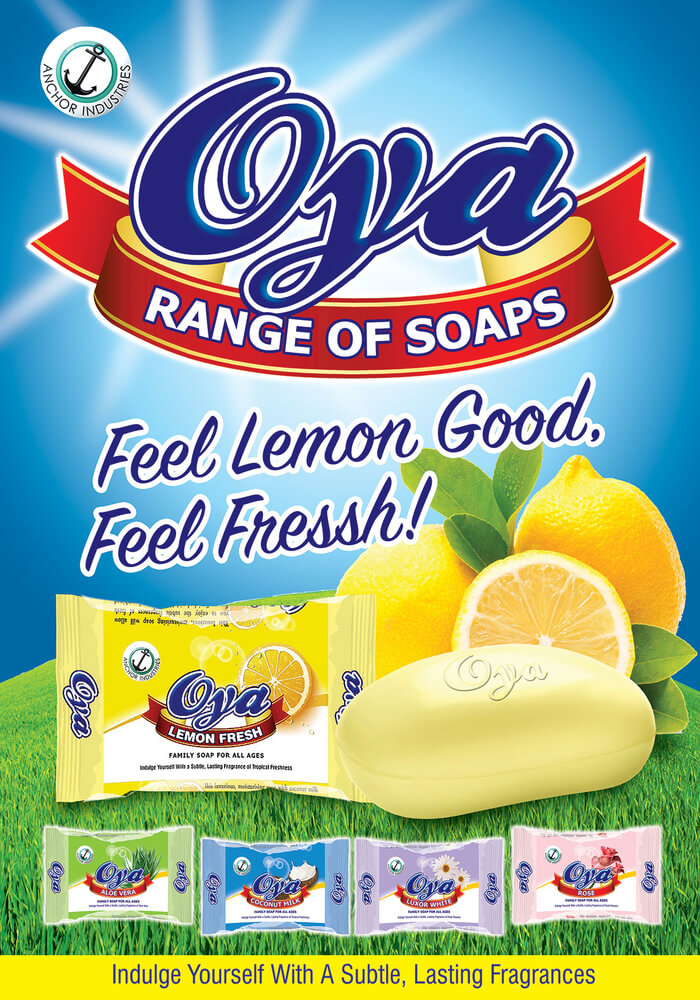 Oya Range of Soaps...