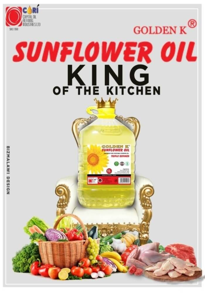 Golden K Sunflower Oil - King of the Kit...