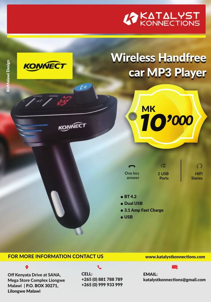 Wireless Handsfree Car MP3 Player...