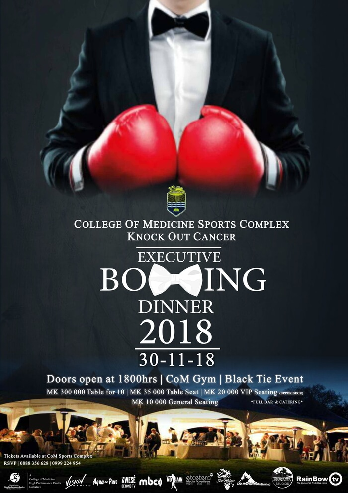 Executive Boxing Dinner...