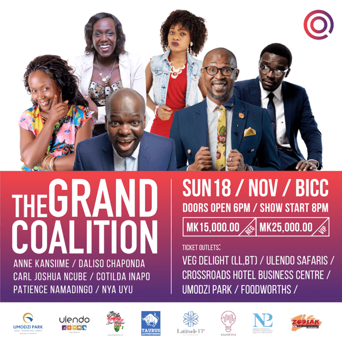 Don't Miss The Grand Coalition This...