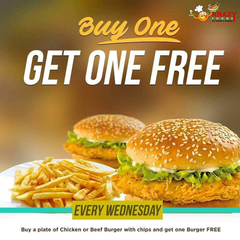 Visit Us For The Wednesday Special ...