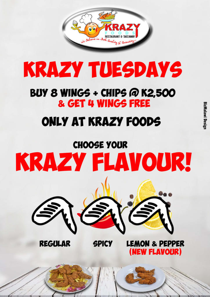 KRAZY TUESDAY FEVER!! Visit Us Toda...