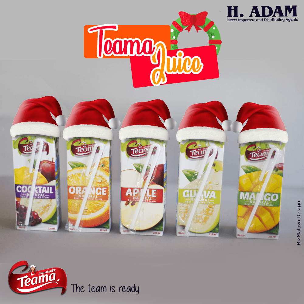 Gear up with Teama this December.