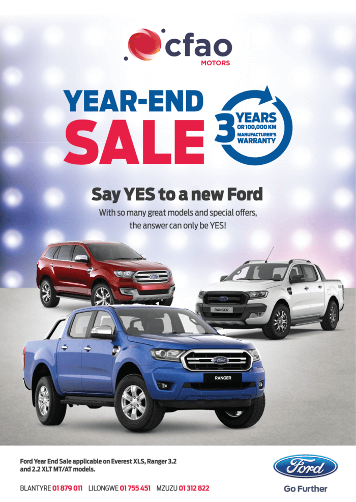 Say YES To A New Ford ...