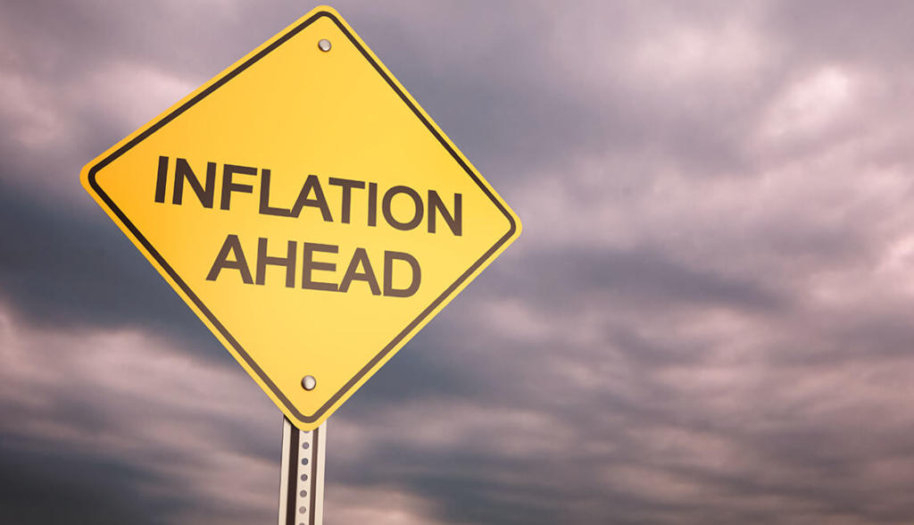 INFLATION BACK TO SINGLE DIGIT...