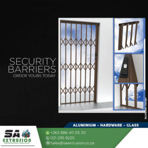 Security Barriers. #SAExtrusion�...