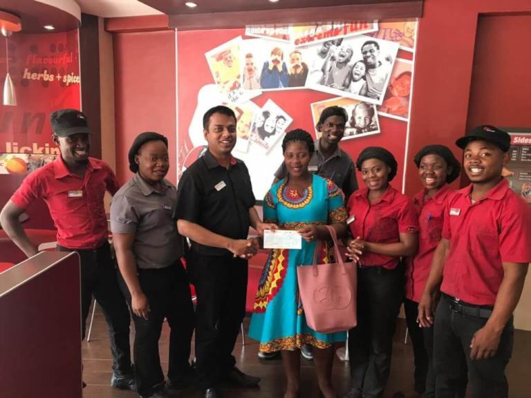 EATING AT KFC TO WIN 100,000!...