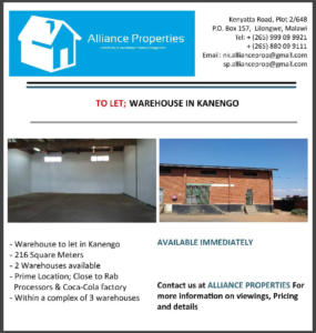 Warehouse To Let - Kanengo