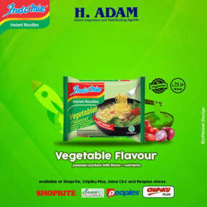 Try Indomie's Vegetable flavor and ...