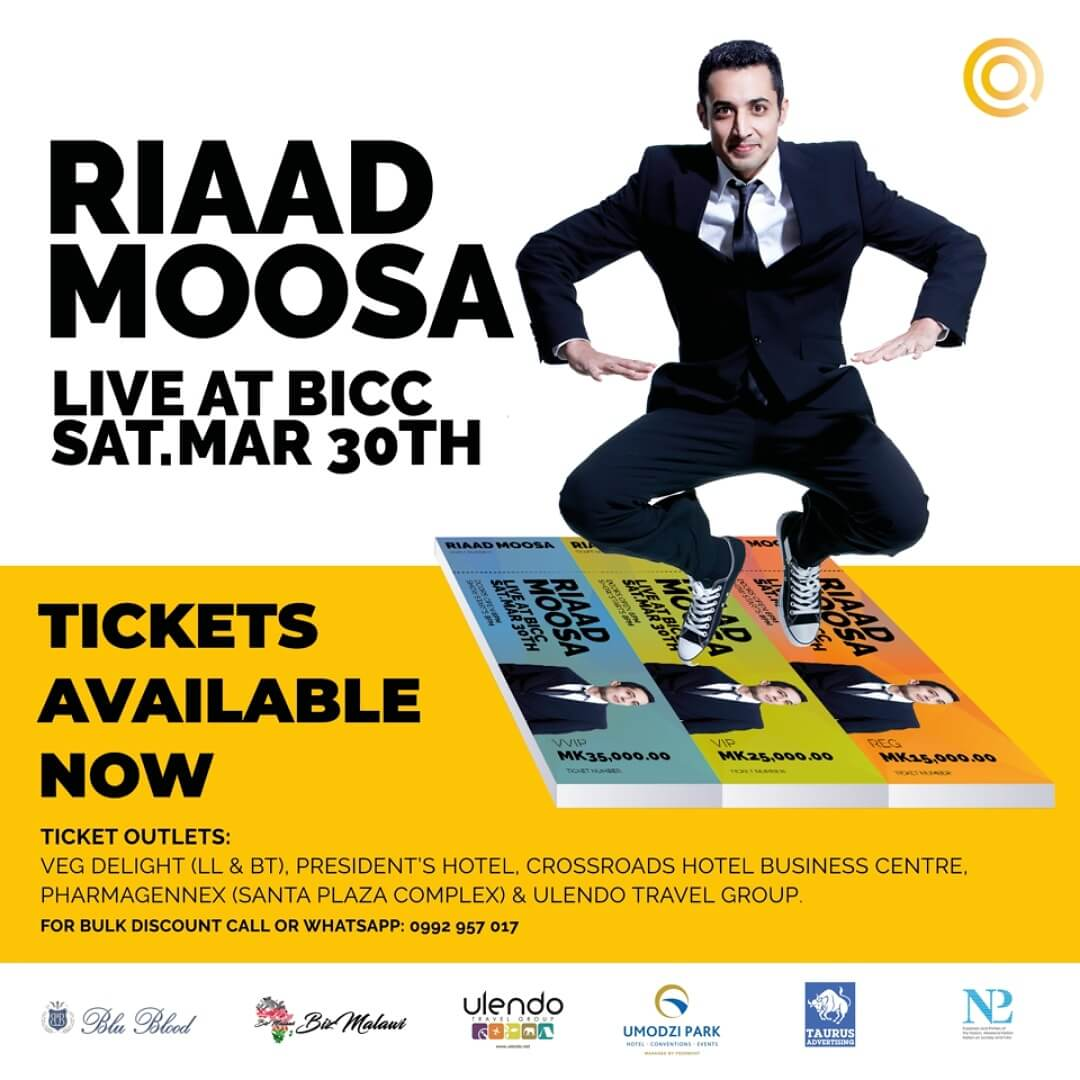 Riaad Moosa In Malawi...