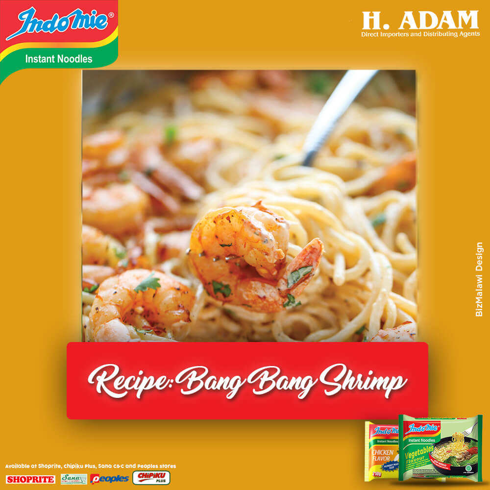 Have fun with Indomie, try Bang Bang Pas...