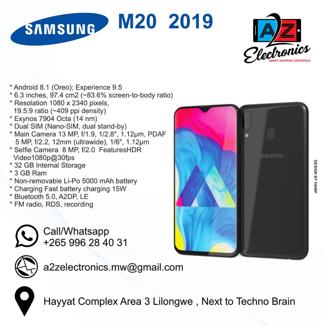 Samsung M20