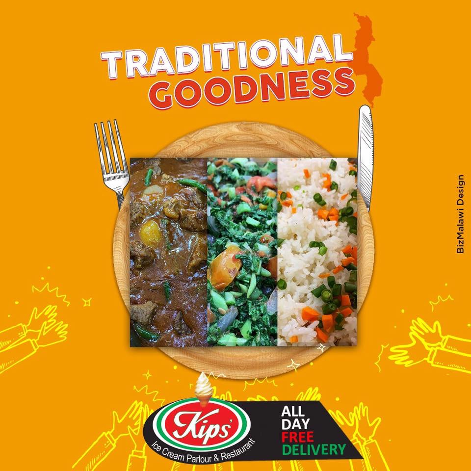 Enjoy our traditional meal selection