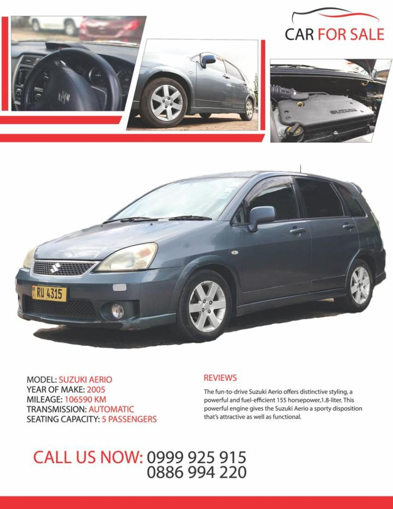 SUZUKI AERIO
