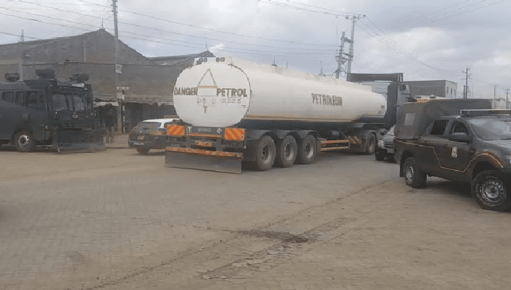 FUEL TRANSPORTERS RAISE CONCER...