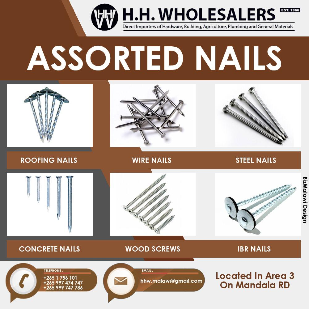 Assorted Nails Available At Your Trusted...