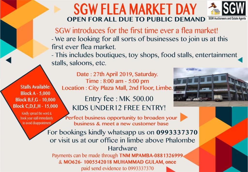 Flea Market Day  Update on the ...