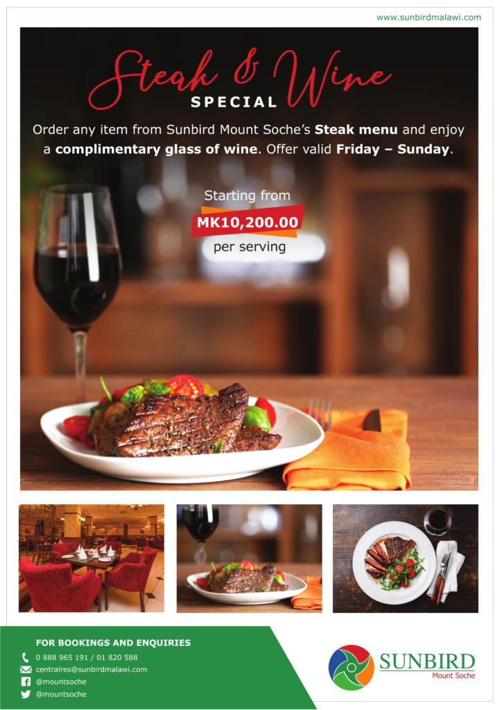 Steak & Wine Special...