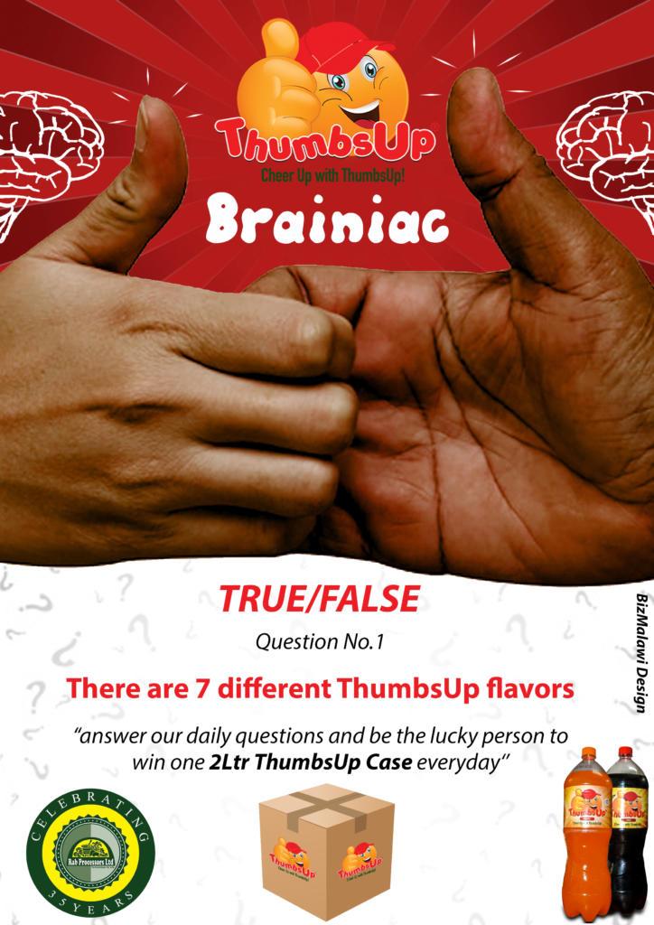 Introducing , ThumbsUp Brainiac. Follow ...