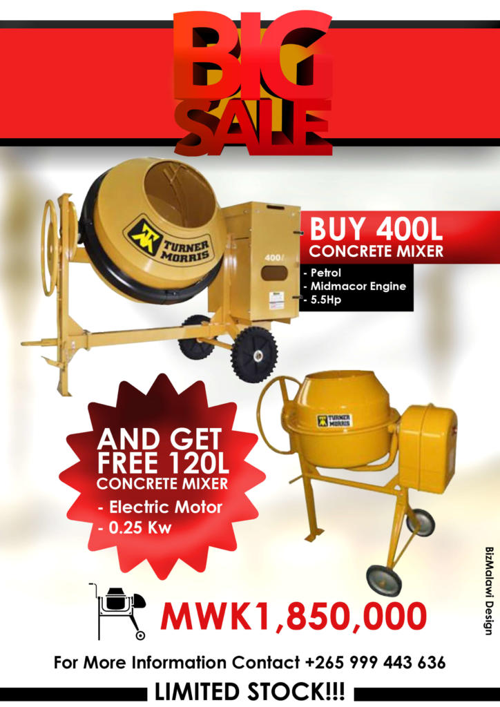 Turner Morris Concrete Mixer On Promotio...