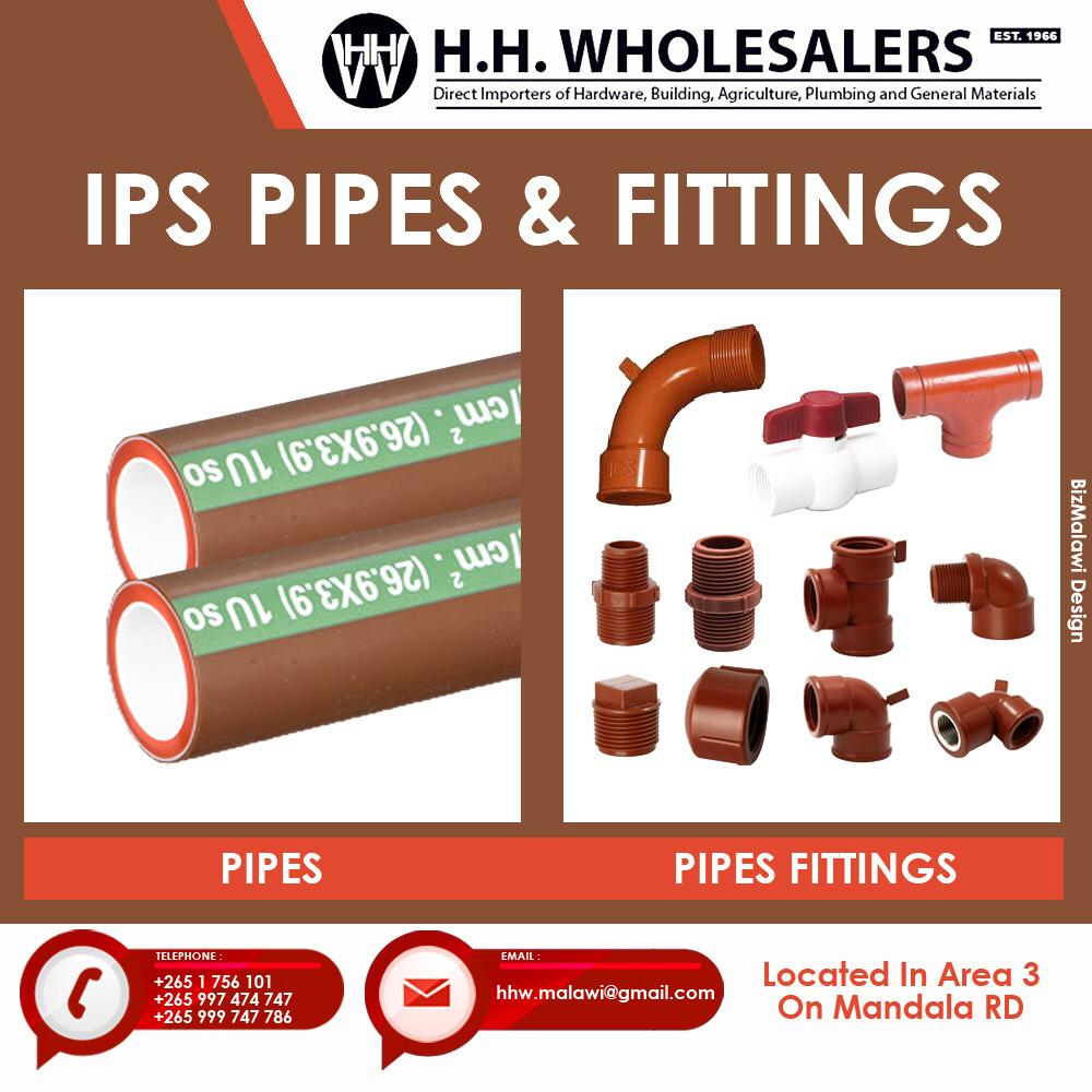 Purchase All Types Of Pipes & Fittin...