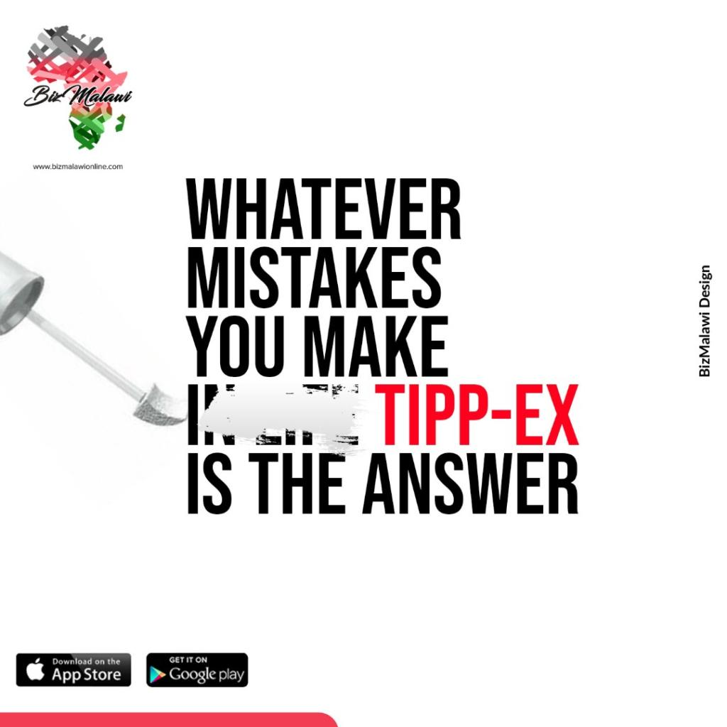 Tipp-Ex Is The Answer...