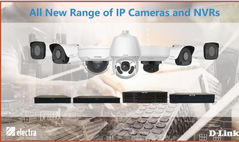 Full range of IP professional cameras av...