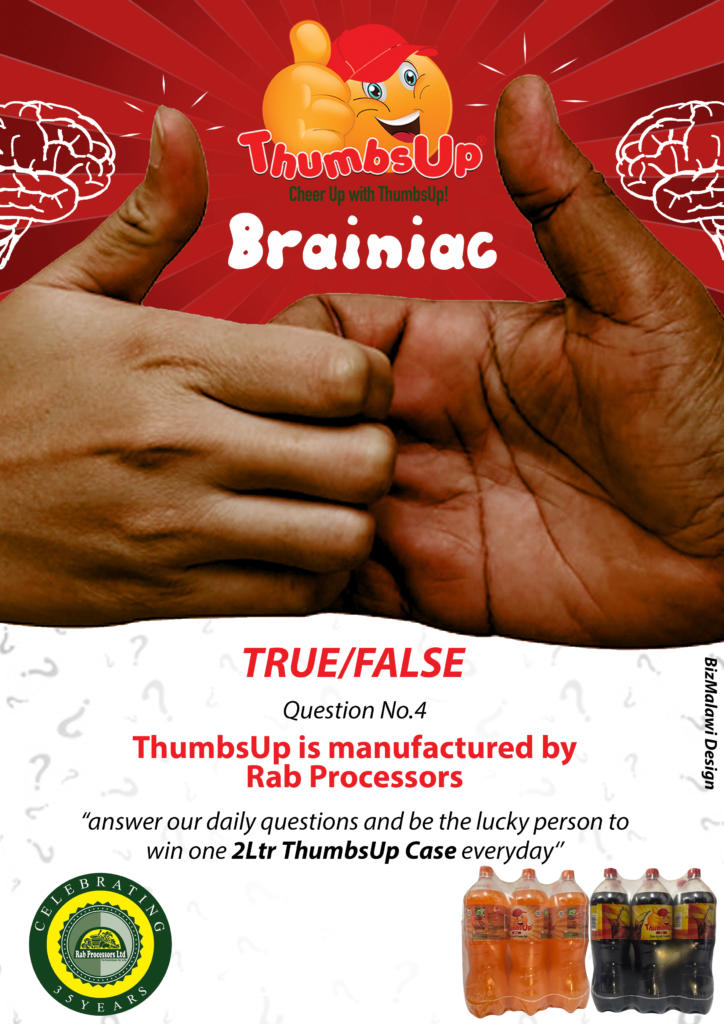 Is ThumbsUp manufactured by Rab processo...