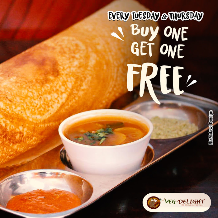 Buy One Dhosa Get One Free ...