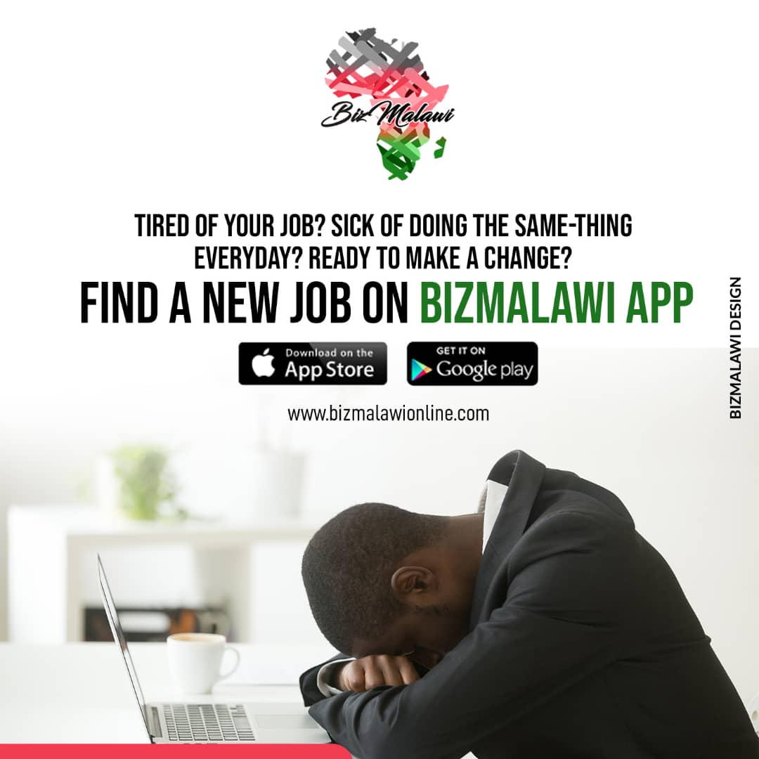 Find A New Job On The BizMalawi App...