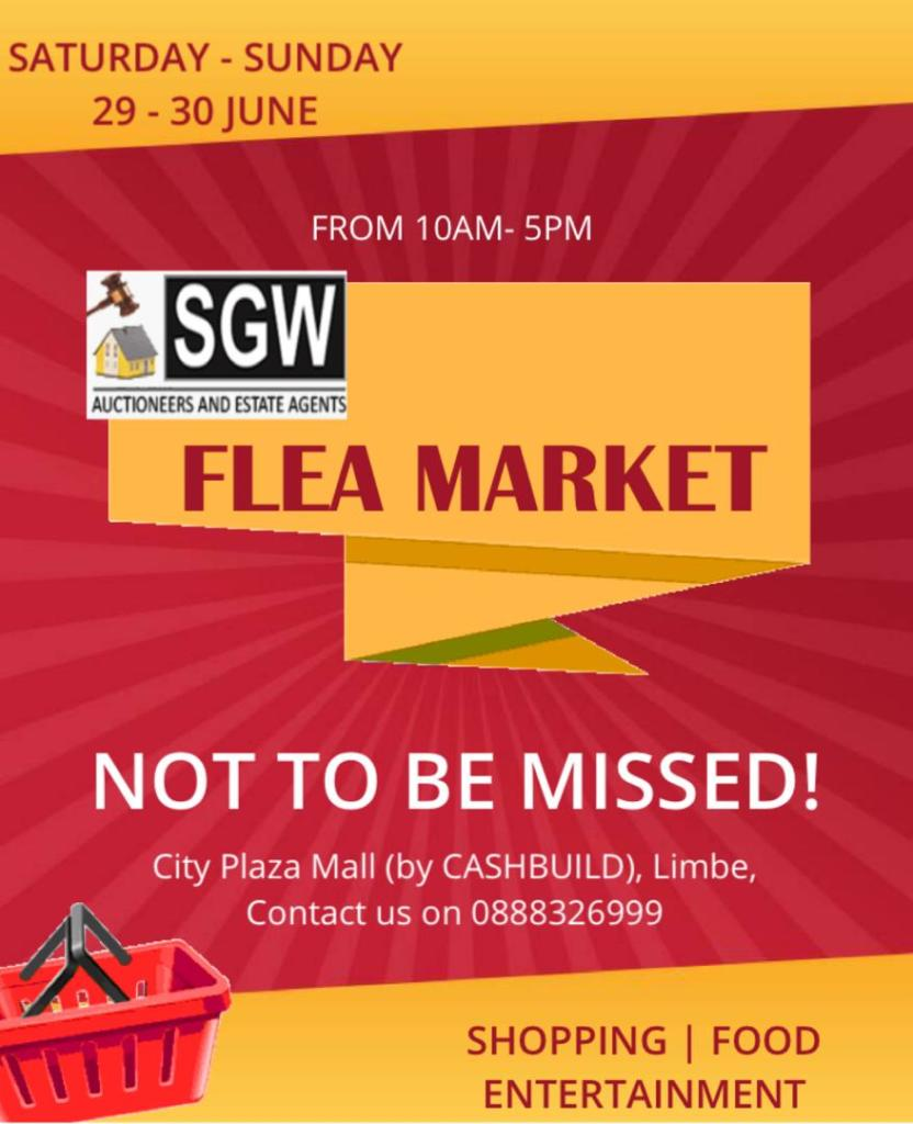 Don't Miss The Coming Flea Market ...