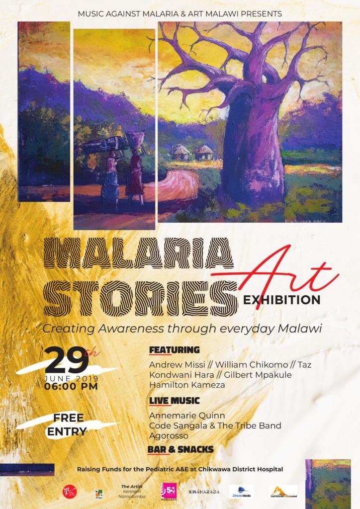 Malaria Stories Art Exhibition...
