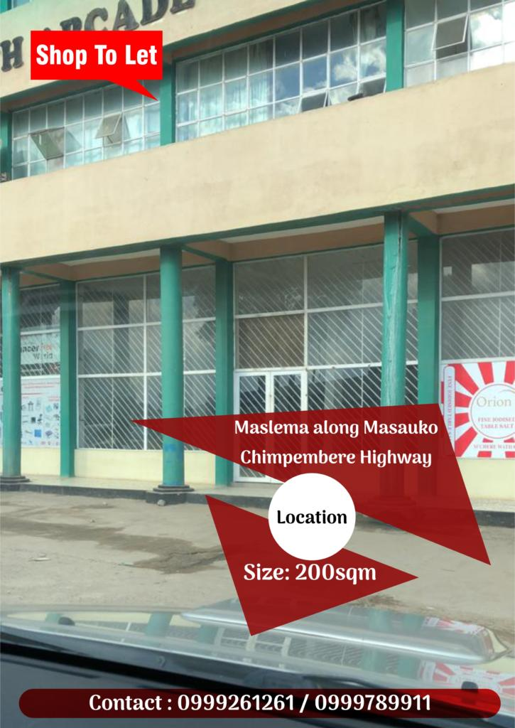 Shop To Let Contact : 0999261261 / 09...