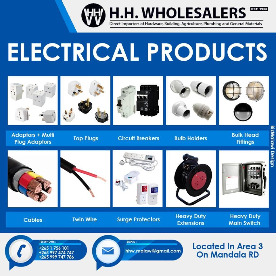 Wide Range Of Electrical Products Availa...