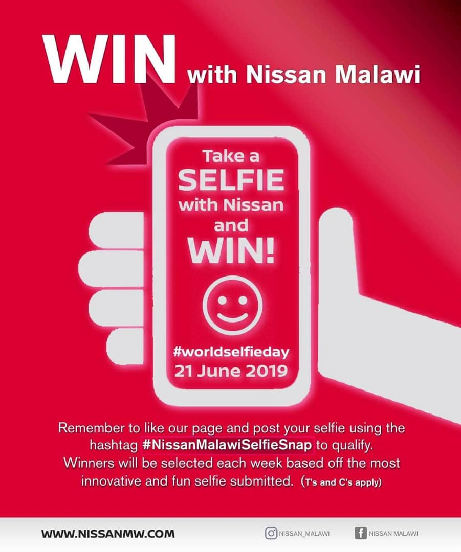 Take A Selfie With Nissan & Win...
