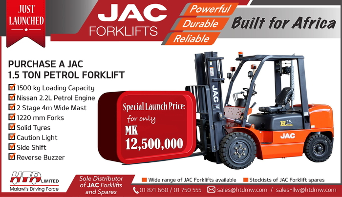 JAC Forklifts Special...