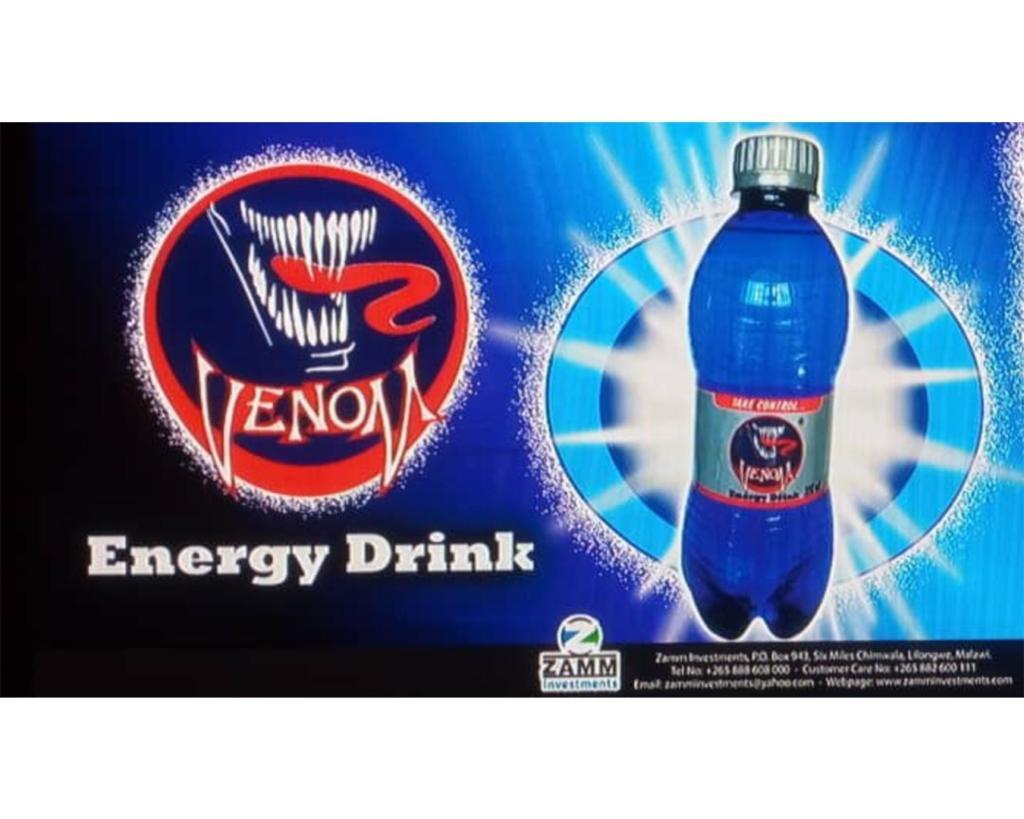 INTRODUCING VENOM ENERGY!...