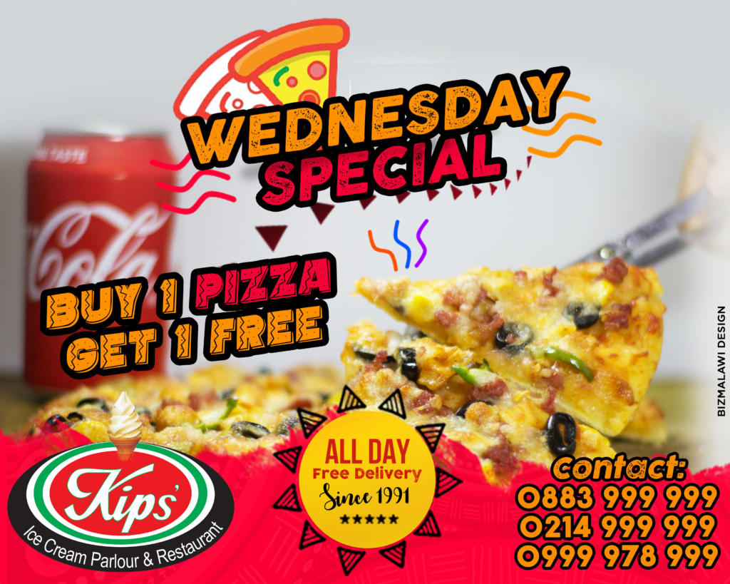 Buy 1 Pizza Get 1 Free! Every ...