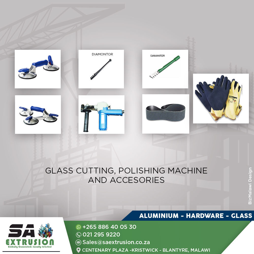 Glass cutting and polishing ma...