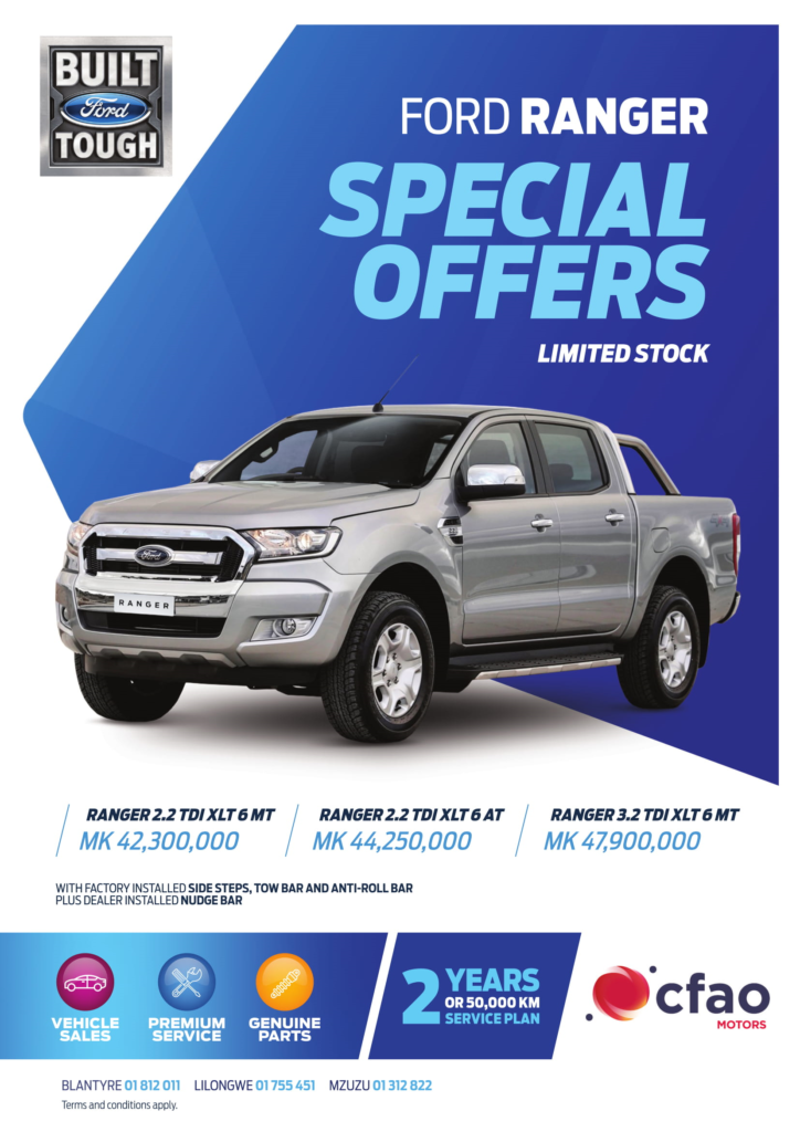 Ford Ranger Special Offer...