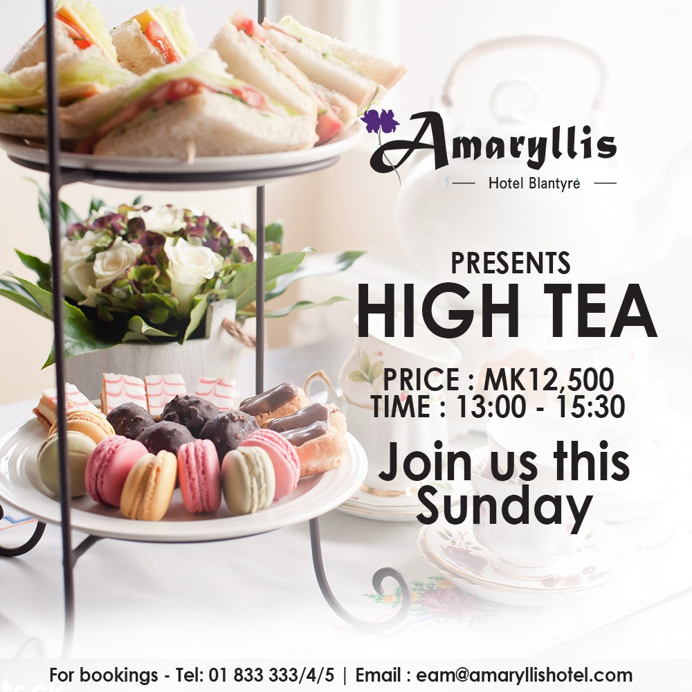 Join Us For High Tea This Sunday,You Are...
