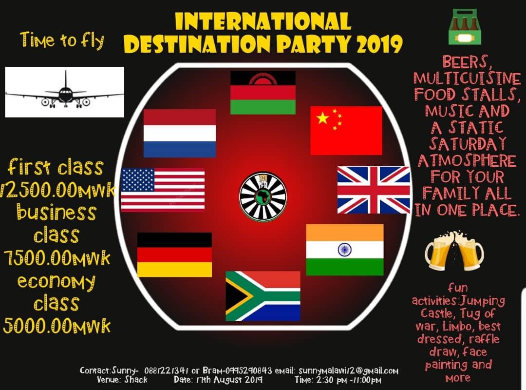 International Destination Party...