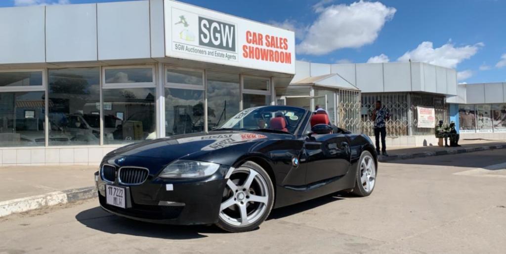 BMW Z4 2009 Automatic Red interio...