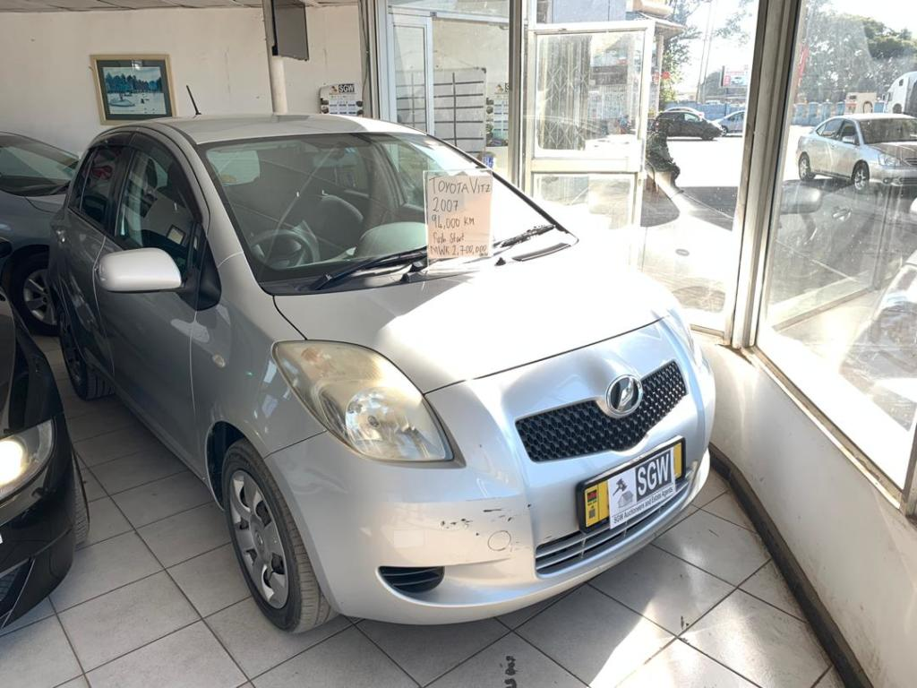 Toyota Vitz 2008 Automatic Push s...