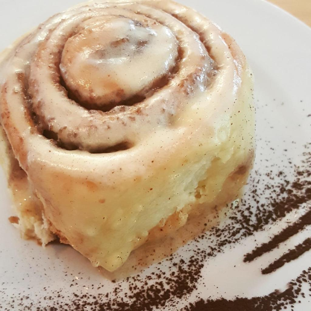 Cinnamon buns available today!...